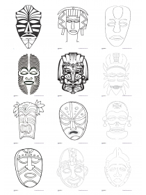 masque africain cycle 2