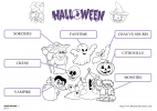 01 VOCABULAIRE HALLOWEEN